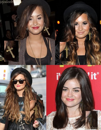 Demi Lovato and Lucy Hale ♥