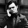 Ed Westwick foto probably containing a business suit, a well dressed person, and a portrait titled Edღ