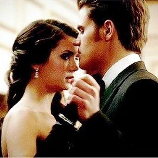 Elena Gilbert and Stefan