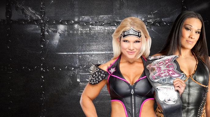 Elimination Chamber:Beth Phoenix vs Tamina