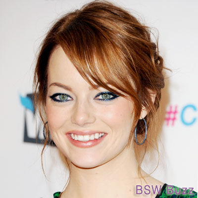 Emma Stone's makeup - makeup Photo