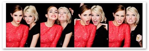 Emma Watson wallpaper called Emma Watson & Sophie Sumner
