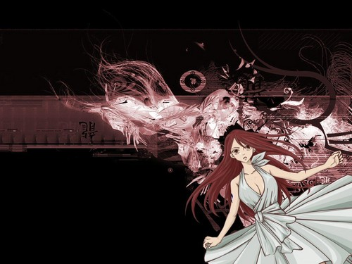 Erza - fairy-tail Wallpaper