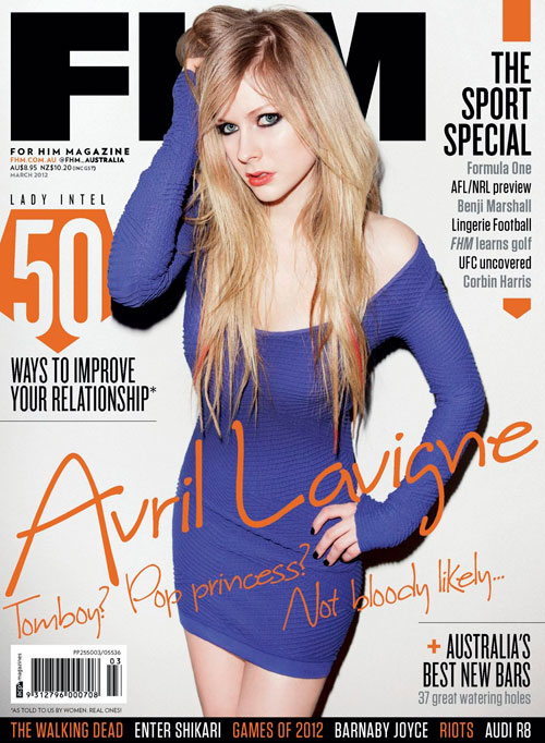 FHM Australia March 2012 (Scans) - avril-lavigne Photo