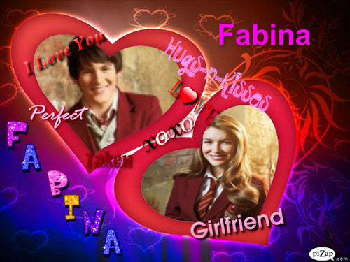 The House of Anubis wallpaper entitled Fabina