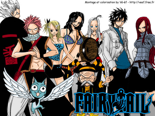 Fairy Tail karatasi la kupamba ukuta with anime entitled Fairy Tail