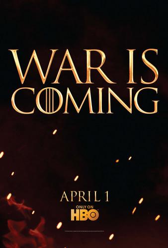 Game of Thrones- Season 2- Tease Art