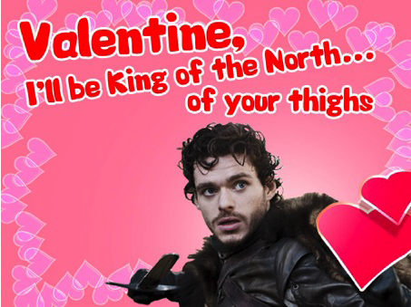 Game of Thrones - Valentine