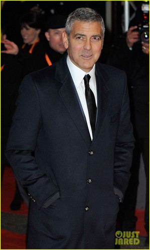 George Clooney - BAFTAs 2012 Red Carpet