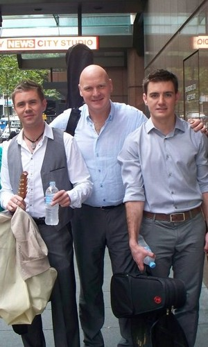 George, Emmet and Neil in Australia