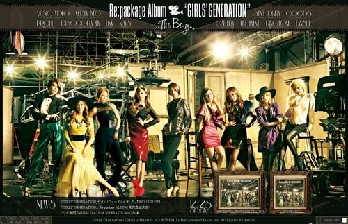 "Girls' Generation ""The Boys"" Japanese Repackaged album"