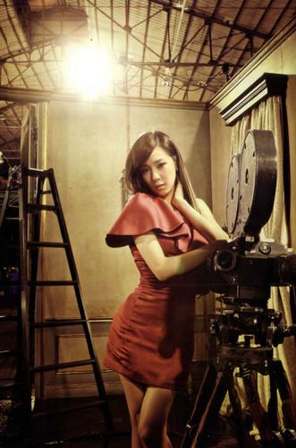 "Girls' Generation Tiffany ""The Boys"" Japanese Repackaged album"