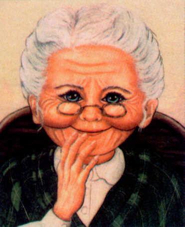 Grandma precious and sweet grandma photo