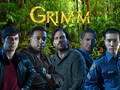 Grimm Cast in Forest - grimm fan art
