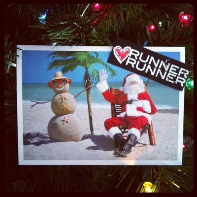 Happy Hoildays from Runner Runner!