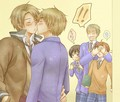 Hetalia Uk and Us
