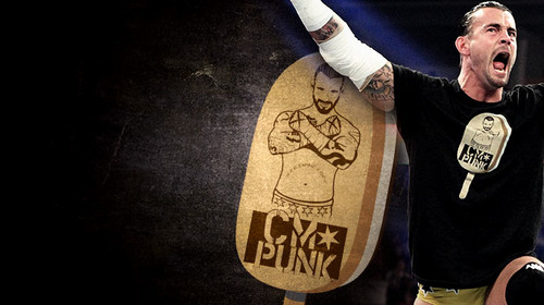 CM Punk wallpaper probably containing a tabard entitled Ice Cream Bars