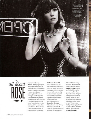 InStyle - March 2012