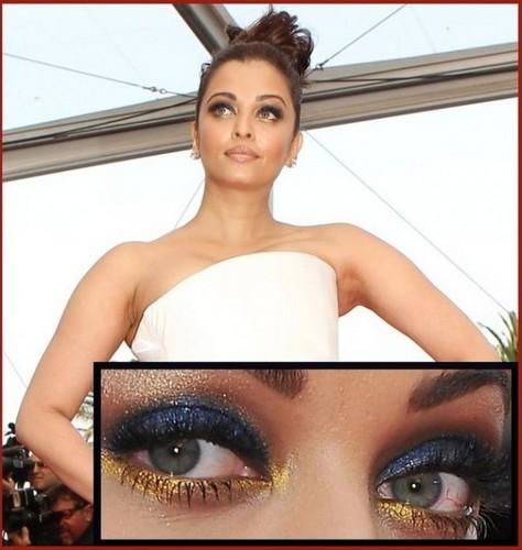 Indian Actress Aishwarya Rai's makeup