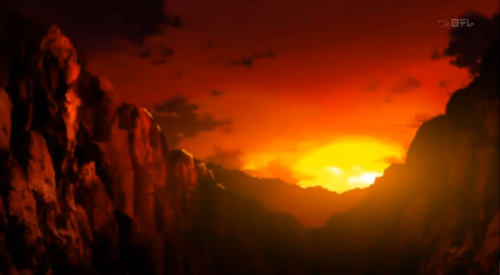 Inuyasha.:The Final Act:. Hintergrund possibly with a sunset titled Inuyasha: The Final Act