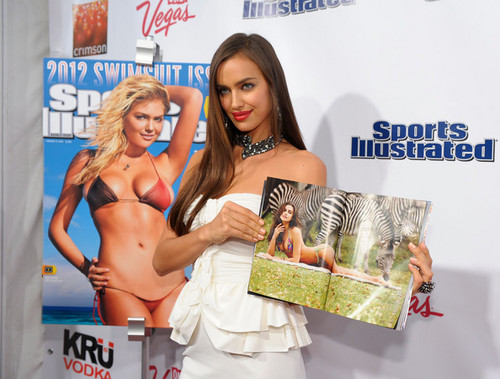 "Irina Shayk - ""Sports Illustrated"" swimsuit Launch Party - (14.02.2012)"