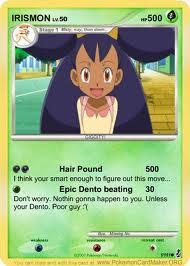 Iris Pokemon Card