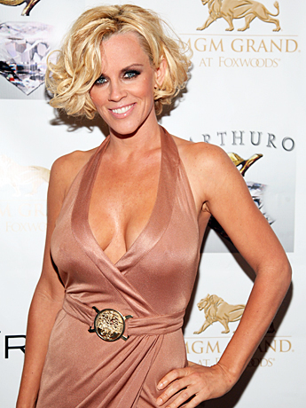 Jenny McCarthy wallpaper possibly containing a bustier, attractiveness, and a chemise entitled Jenny McCarthy