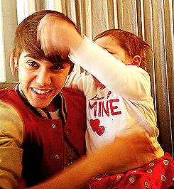 Jusin and Mrs Bieber :)