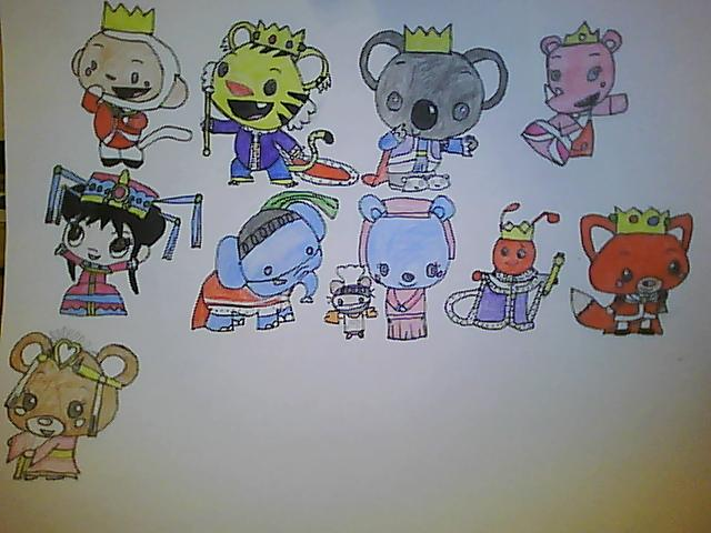 Kai-Lan's Royal Adventures Characters (Updated)