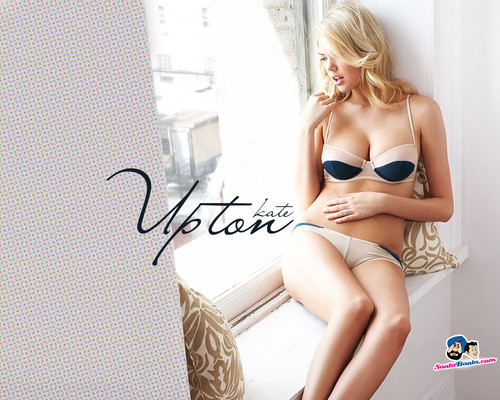 kate upton wallpaper probably containing a bikini, a brassiere, and a roupa interior called Kate Upton
