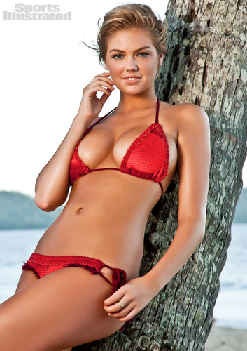 "Kate Upton hình nền containing a bikini titled Kate Upton - ""sports illustrated"" - (2012)"