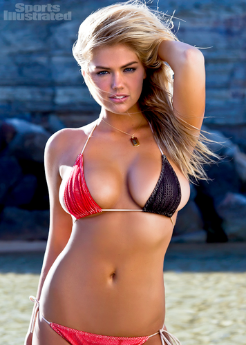 "Kate Upton hình nền containing a bikini called Kate Upton - ""sports illustrated"" - (2012)"