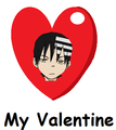 Kid, My Valentine - soul-eater fan art