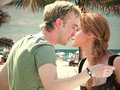 Kiss on the beach - tom-felton-and-emma-watson photo