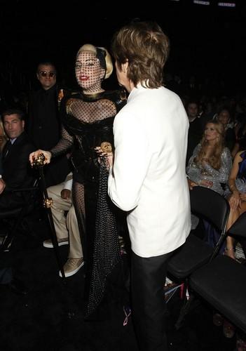 Lady Gaga at the Grammys