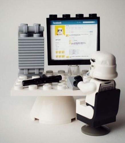 Lego facebook