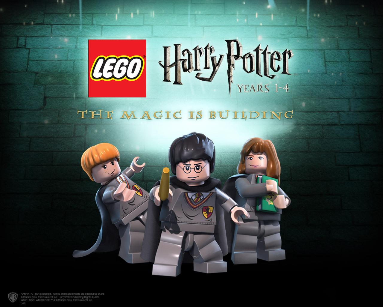 Lego Harry Potter Wallpaper 2