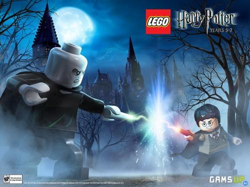 Lego Harry Potter karatasi la kupamba ukuta