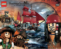 Lego Pirates of Caribbean Wallpaper