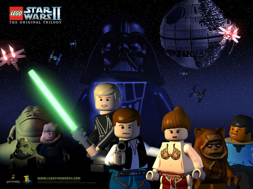 Lego nyota Wars The Original Trilogy