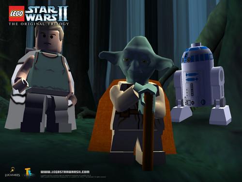 Lego звезда Wars Обои