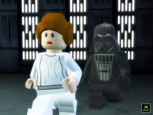 Leia and Darth Vader
