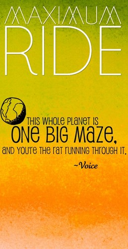 Maximum Ride wallpaper called Maximum Ride Quote