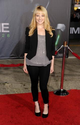 "Melissa Rauch @ the Premiere Of Regency Enterprises' ""In Time"" - Arrivals"