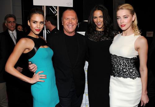Michael Kors - Backstage - Fall 2012 Mercedes-Benz Fashion Week (February 15)