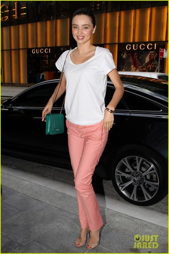 Miranda Kerr Smiles in Sydney