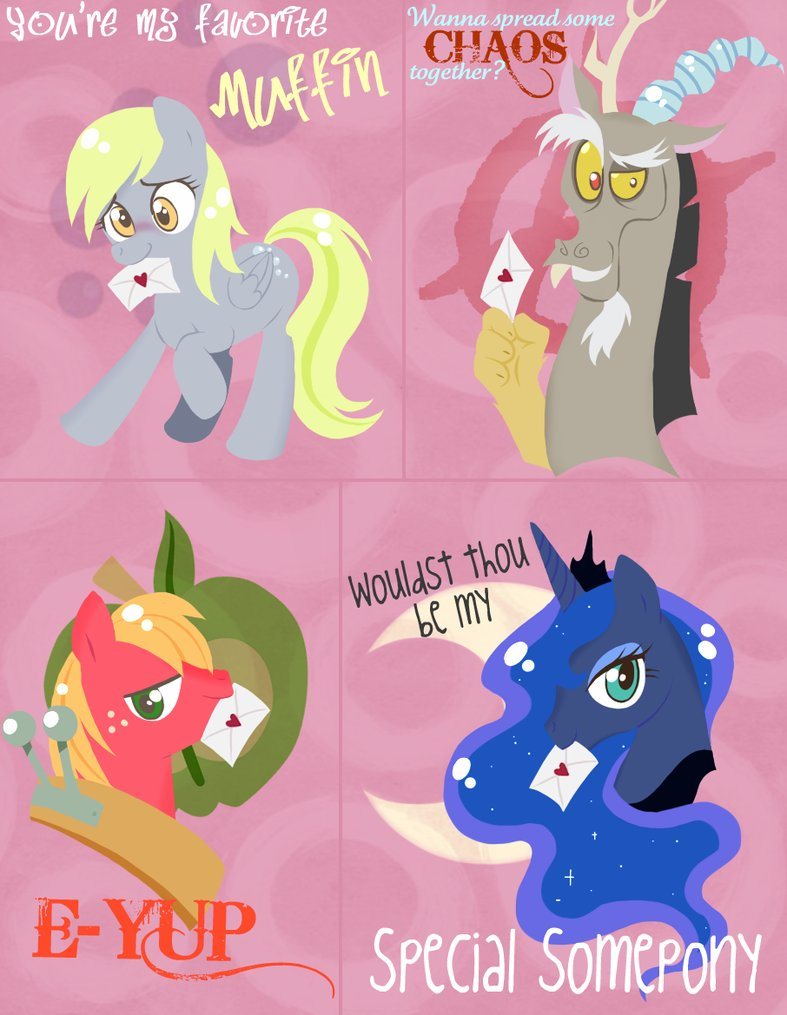 My Little Pony Valentine S My Little Pony Friendship Is
