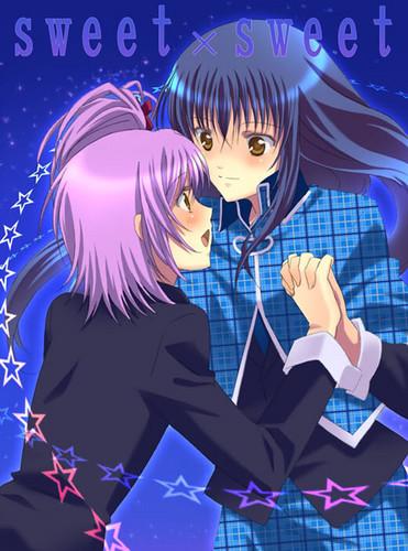 Nagihiko and Amu