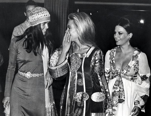 Natalie, Dyan meriam and Ali MacGraw