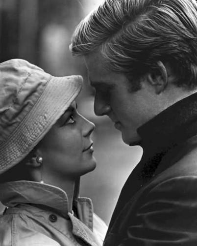Natalie and Robert Redford